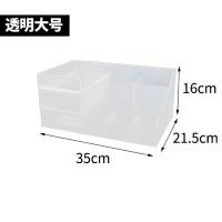 桌面化妆品收纳盒抽屉式塑料置物架梳妆台首饰盒整理盒口红化妆盒