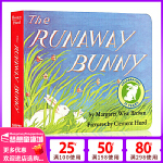 英文原版绘本 The Runaway Bunny 逃家小兔 纸板书 廖彩杏书单 吴敏兰 同场加映 名家推荐 英语儿童读