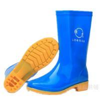 春秋男士高筒水鞋防水防滑雨鞋长筒雨靴工地劳保胶鞋套鞋耐酸碱