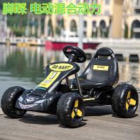 大型玩具车可坐人儿童电动四轮卡丁车可坐宝宝玩具汽车小孩脚踏两用自行车沙滩摩托