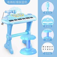 儿童电子琴女孩初学者入门可弹奏音乐玩具宝宝多功能小钢琴3-6岁1