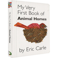 艾瑞卡尔爷爷 英文原版0 3岁 Eric Carle My Very First Book of Animal Hom