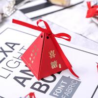 结婚用品喜糖盒子创意结婚浪漫韩式喜糖礼盒婚礼新款喜糖盒子批�l 烫金-喜糖款 2018新款