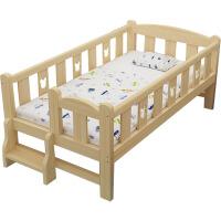 拼接床加宽床实木儿童床带护栏宝宝床边床加床定做童床小床拼大床 其他