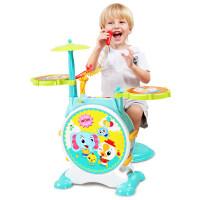 儿童初学者早教爵士鼓 架子鼓敲打鼓乐器玩具1-3-6岁