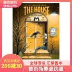 【预订】 The House of Madame M M夫人的房子 儿童翻翻书互动书 英文原版童书