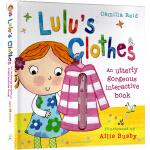 Lulus Clothes 露露穿衣服 精装操作书 英文原版幼儿启蒙 露露大明星系列 Lulu's Clothes