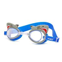 男女童潜水镜游泳眼镜装备儿童泳镜泳帽高清透明套装