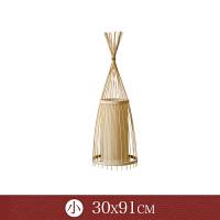【品牌特惠】落地灯客厅卧室竹艺灯具茶室创意立式灯 调光款