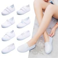 幼儿园小白鞋学生童鞋帆布鞋白球鞋儿童白布鞋男童女童白色运动鞋