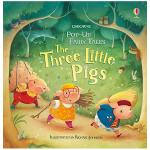 【预订】【立体书Pop-up Fairy Tales】Three Little Pigs 三只小猪