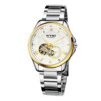 2018年新款 EYKI艾奇 全自动机械表 钢带手表 罗马刻度 男表 8628 白盘金针