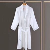 五星级酒店浴袍男女士秋冬纯棉加厚睡袍毛巾料全棉吸水浴衣
