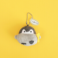 正能量企鹅公仔挂件钥匙扣女可爱创意玩偶包包挂饰