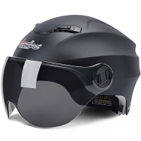 摩托车头盔男电瓶车女士夏季半盔四季通用安全帽防晒