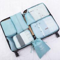 旅行收纳袋行李箱衣服分装整理包出差旅游衣物内衣束口袋便携套装