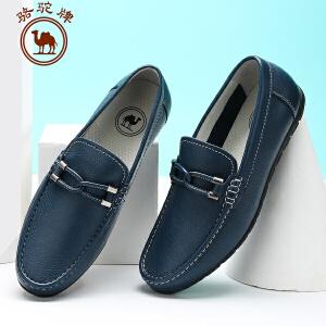 骆驼牌 春季新款男鞋 耐磨日常休闲流行男鞋子系带