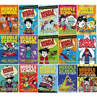 Middle School 上学不容易系列 英文原版 7册套装 詹姆斯・帕特森 James Patterson 地狱高中生活 电影原著