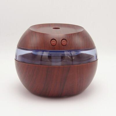 创意木纹加湿器 家用办公室超声波雾化器USB迷你加湿器桌面净化器 生日礼物 本店满百开发票,欢迎选购!