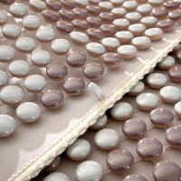晶彩陶瓷坐垫贵妃皮布艺沙发垫夏天座垫夏季凉垫定制