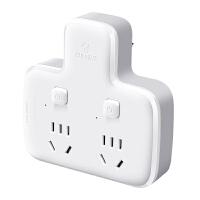 公牛插座转换器品字型一转二多孔电源插头多功能插线板面板无线插排