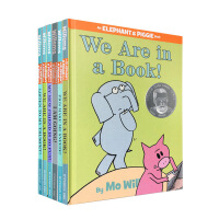 进口英文原版绘本 An Elephant and Piggie Book 小象小猪系列6本精装彩色插图 Mo Willems 低幼儿童英语启蒙认知绘本亲子故事读物 Picture Book