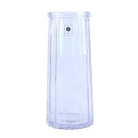 玻璃花瓶摆件客厅插花欧式鲜花百合富贵竹小清新透明ins北欧