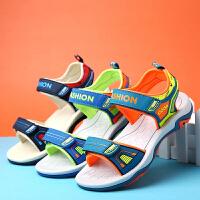 2019夏季新款男童凉鞋儿童软底鞋儿童凉鞋中大童男孩沙滩鞋