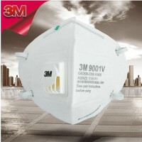 包邮顺丰 3M 9001V PM2.5防护口罩 25只装 防雾霾 防禽流感 防尘 防花粉