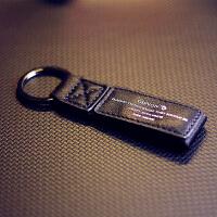 汽车真皮钥匙扣绳绝地求生吃鸡三级头包平底锅个性金属包挂件挂饰