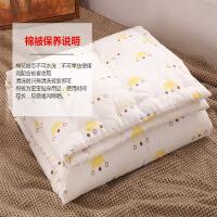 棉花儿童被子午睡幼儿园棉被定做婴儿被芯宝宝春秋被棉小薄被定制