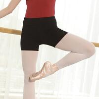 舞蹈短裤 女练功平角裤 成人三分裤儿童舞蹈练功服装黑色芭蕾舞裤