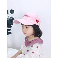 宝宝遮阳帽男女童棒球帽潮春夏季儿童鸭舌帽亲子帽子