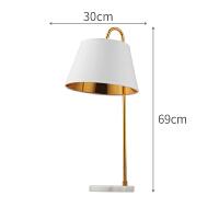 【品牌特惠】北欧台灯现代时尚设计个性书桌台灯美式简约创意卧室床头灯家用