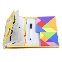 【2件5折】益智玩具 智力开发 优力优 EVA磁性七巧板 开学季幼儿园开发智力玩具 含163题