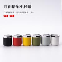 唐丰茶叶罐小号陶瓷密封罐便携茶叶盒日式随身罐定制logo
