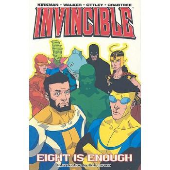 【预订】Invincible Volume 2: Eight Is Enough 预订商品,需要1-3个月发货,非质量问题不接受退换货。