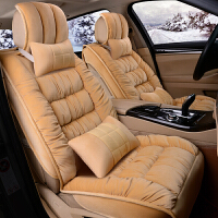 【包邮】名秀阁汽车坐垫座套冬季保暖通用羽绒冬天短毛毛绒车套全包小车座垫套