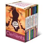 顺丰发货 Andrew Clements' School Stories 10本盒装 安德鲁克拉门校园系列英文原版少儿