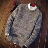 男士打底衫冬季新款毛衣男休闲百搭针织衫长袖韩版加厚线衫男装潮