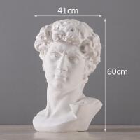 石膏像摆件艺术品现代简约胜利女神家居装饰品办公室创意复古雕像
