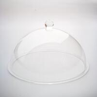 【好货】透明盖菜罩子 食品糕点防尘罩半球展览有机玻璃透明亚克力灯罩酒店防尘罩