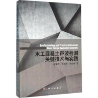 水工混凝土声波检测关键技术与实践 张建清,刘润泽,李张明 著