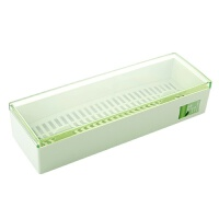 竹纤维沥水筷子盒厨房筷子筒 家用餐具收纳盒创意防尘筷笼筷子笼