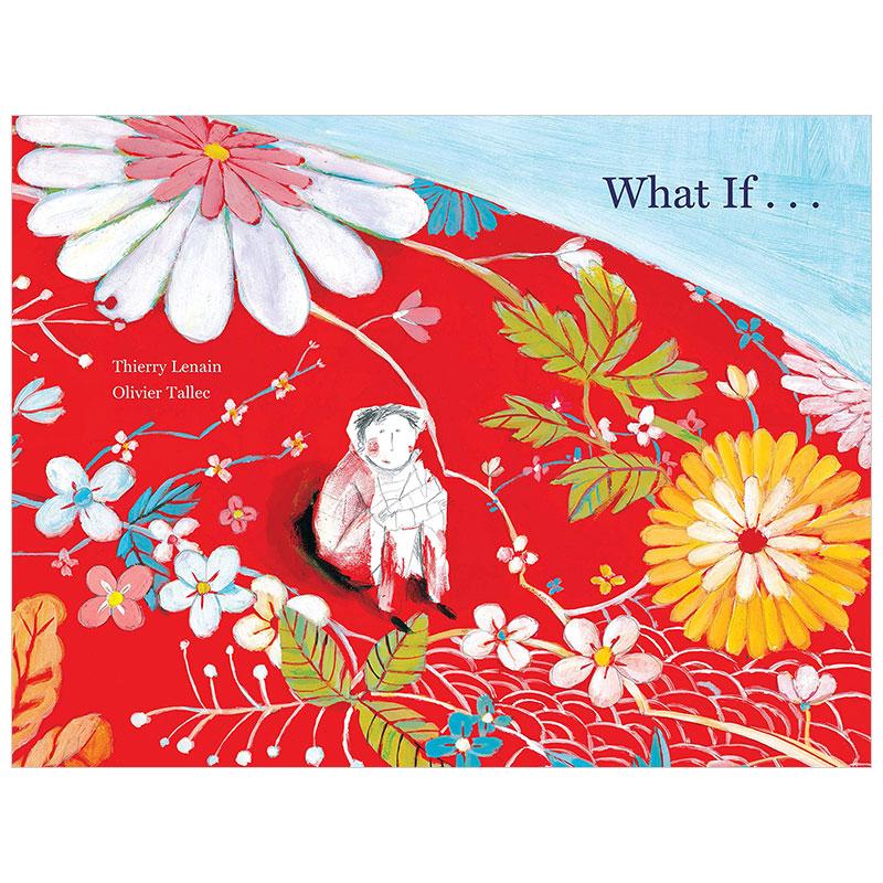 What If...如果 法国插畫師Olivier Tallec 儿童英文艺术绘本 善本图书 汇聚全球出版物,让阅读改变生活,给你无限知识