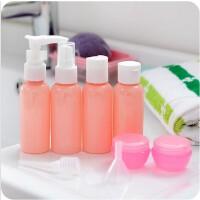 旅行化妆品分装瓶套装喷雾瓶乳液瓶 面膜泡瓶 9件套