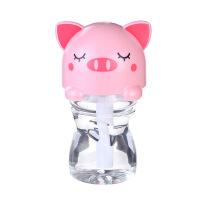 2018新款 威乐星卡通版瓶盖加湿器创意静音USB迷你加湿器空气香薰净化器 直径7.5,高度5.5cm