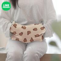 LINE FRIENDS布朗熊冬季电热水袋充电自动温控暖手袋