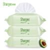 喜朗 婴儿手口湿巾80片带盖*3包 宝宝柔棉湿纸巾