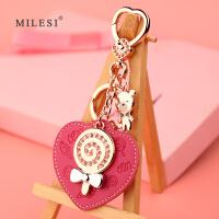 汽车钥匙挂件钥匙扣女式创意包包挂饰书包挂件可爱钥匙链